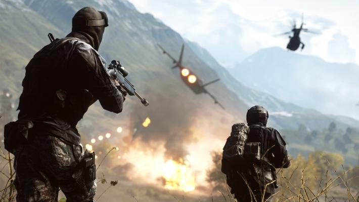 Battlefield 4 - Golmud Railway