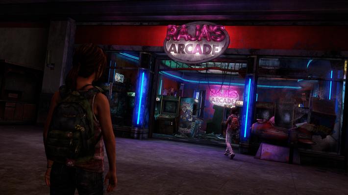 Ellie and Riley at Rajas Arcade_1392204775