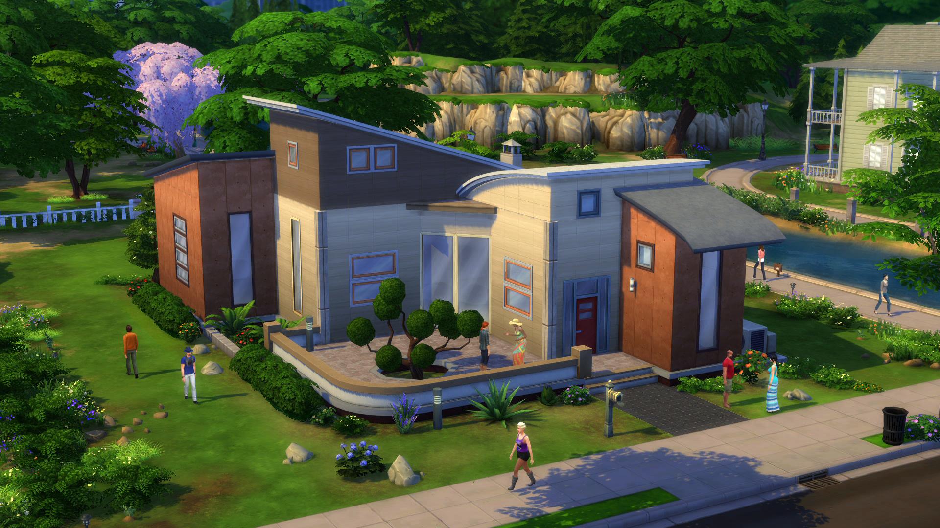 So erstellt ihr einfach traumh user in sims 4 gentv for Sims 4 dach bauen