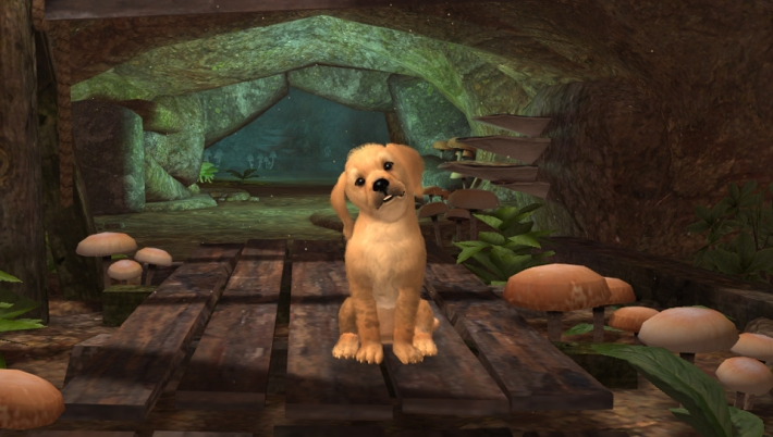 PlayStation Vita Pets Adventure Screen 01