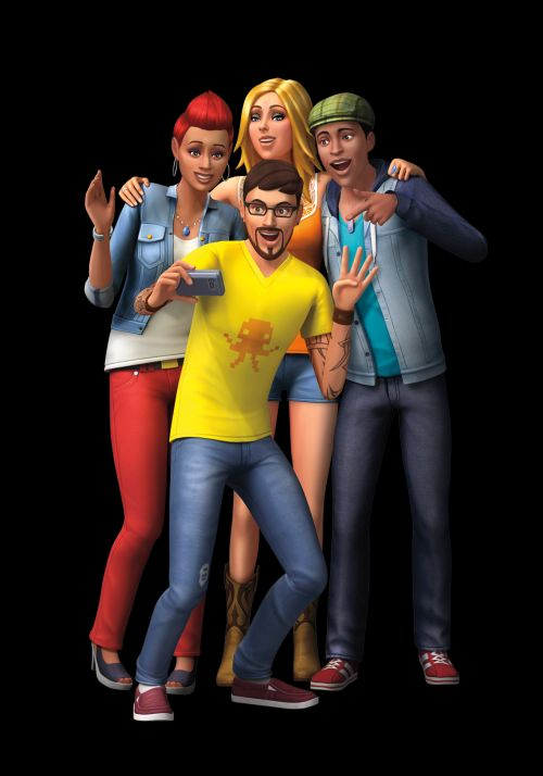 Die Sims 4 Party Time Selfie