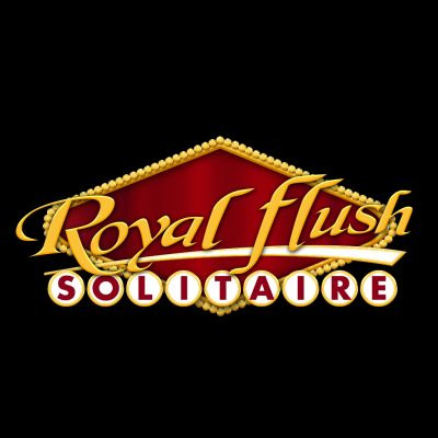 Game Logo - Royal Flush Solitaire (iOS & Android)