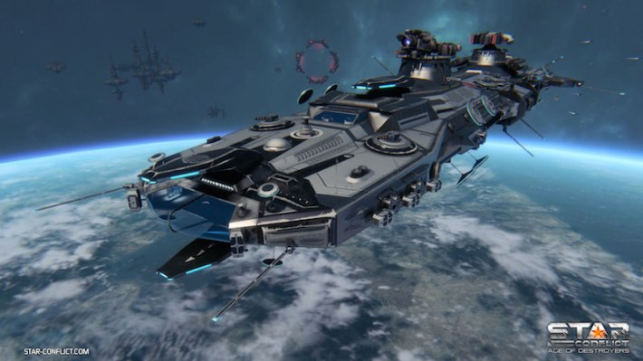 StarConflict_Federation_Destroyer